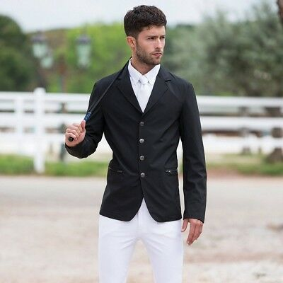 (Large, Black) - Horseware Gents Competition Jacket. Shipping is Free