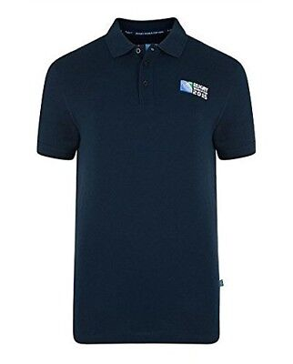 (Navy, Small) - Canterbury Men's Rugby World Cup No.8 Polo. Shipping is Free