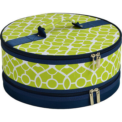 """Picnic at Ascot Pie and Cake Carrier 12"""" Diameter 5 Colors Outdoor Accessorie"""
