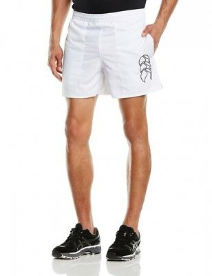(Size 34, White) - Canterbury Men's Tactic Shorts. Shipping Included