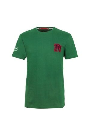 (Large, Z82 Light Green) - Front Up Rugby Men's Pain is Temporary T-Shirt