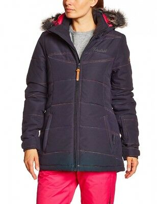 (Medium, Black) - Protest Women's Heywood Snow Jacket. Free Delivery