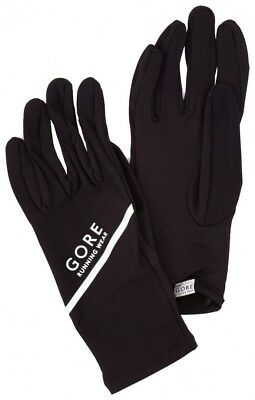 (6, Black) - Gore Running Wear Essential Light Gloves. Shipping Included