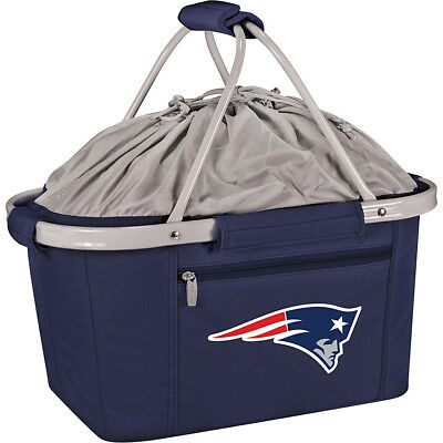 Picnic Time New England Patriots Metro Basket - New Outdoor Cooler NEW