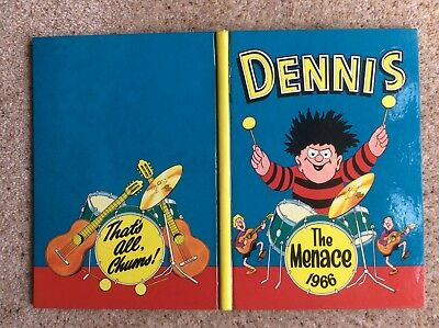 Excellent  Copy Of The 1966 Dennis The Menace  Annual Book