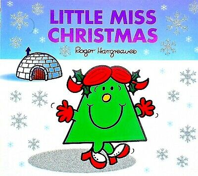 Little Miss Christmas|Roger Hargreaves|Children's Story|Sparkly Picture Book|New
