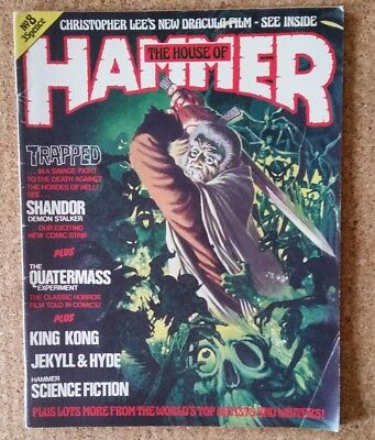 The House Of Hammer Magazine #8 - Rare  And Complete