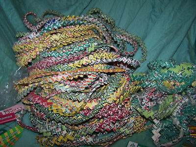 Large lot Vintage chewing gum wrappers