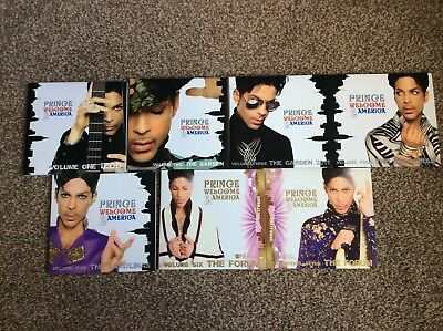 Prince Welcome 2 America Cd Set Volumes 1 To 7 Plus Dvd Very Rare