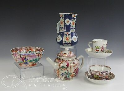 Interesting Group Of Antique 18C Chinese Export Porcelain