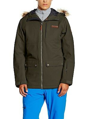 (Peatmoss, Small) - Columbia Men's Catacomb Crest Jacket. Free Shipping