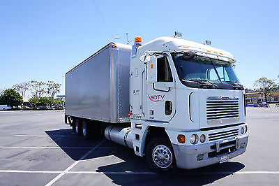 2003 Freightliner Argosy Box Truck with Interior Shelving and Electrical