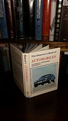 The Observer's Book of Automobiles 1979 EXCELLENT CONDITION