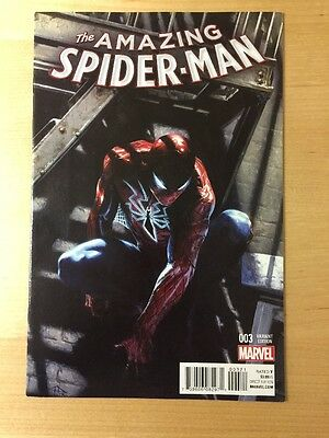Amazing Spiderman 3 Vol 4 2015 Rare Gabrielle Dell Otto Variant Nm Unread