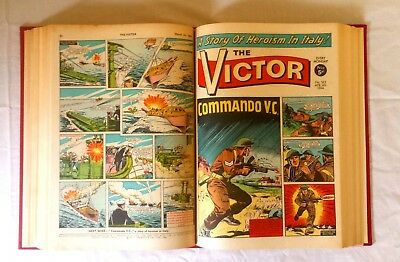The Victor Comic Bound Volume January – June 1964 Nos 150 – 175 Full Half Year