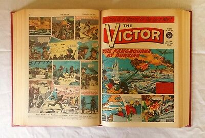 The Victor Comic Bound Volume July - December 1964 Nos 176 - 201 Full Half Year