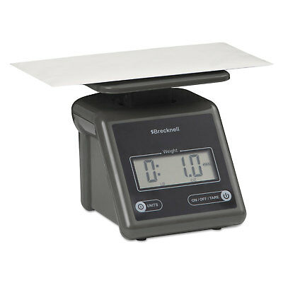 Brecknell Electronic Postal Scale 7 lb Capacity 5 1/2 x 5 1/5 Platform Gray PS7