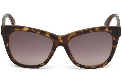 cf22dee101 NWT GUESS Sunglasses GU 7472 56F Havana   Gradient Brown 56 mm GU7472 NIB
