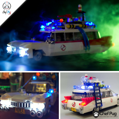 LED Light Kit ONLY For Lego 21108 Ghostbusters Ecto-1 Lighting Bricks