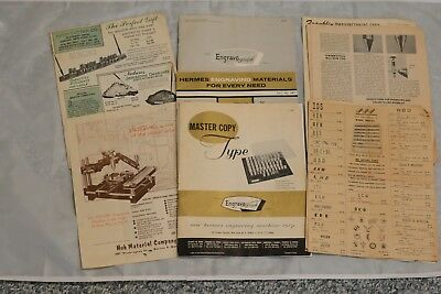 Engravograph New Hermes Engraving Manuals Catalogs