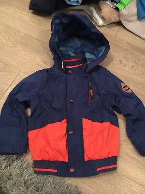 Baby Baker Blue and orange Jacket Boys  18-24 Months