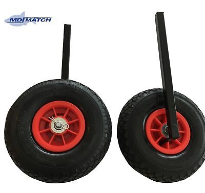 MDI Match Matchman Duo Barrow Trolley Pneumatic Wheels & 20mm Square Leg Set