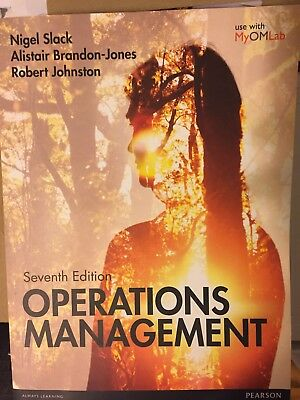 Operations Management by Prof. Nigel Slack, Robert Johnston, Alistair...