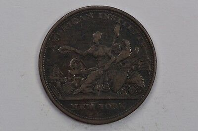 1833 American Institute New York Hard Times Token HT152 .99c NO RESERVE