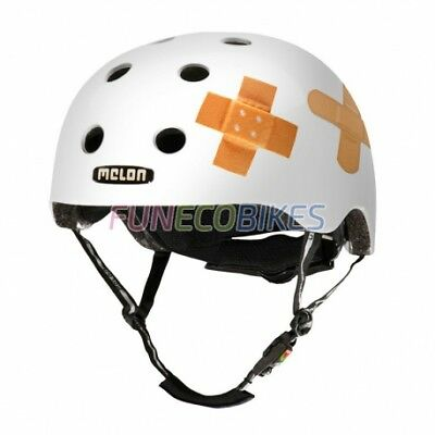 Melon Casque urban active Story Plastered White
