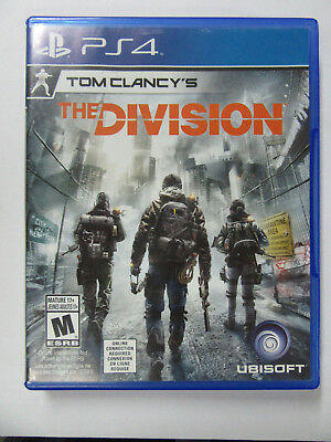 Tom Clancy's The Division Sony PlayStation 4 Fast Free Shipping PS4 no mario