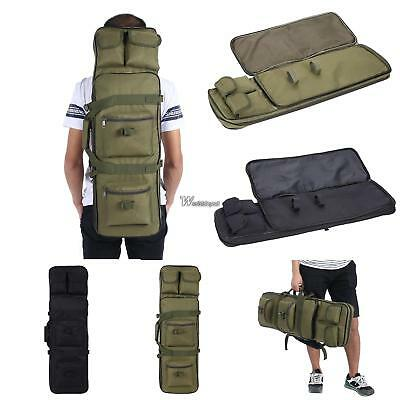New Long Gun Case Rifle with MOLLE Pouches Integrated Pistol Cases WT88