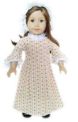 """Doll Clothes 18"""" Doll Colonial Dress Fits American Girl Doll Felicity"""