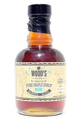 Wood's Rum Barrel Aged Maple Syrup