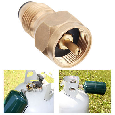 Propane Refill Adapter Lp Gas Cylinder Tank Coupler Heater camping Hunt POL