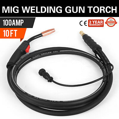 MIG Welding Gun 100A 10' K530-6 Replacement Torch for Lincoln 100L | US Seller