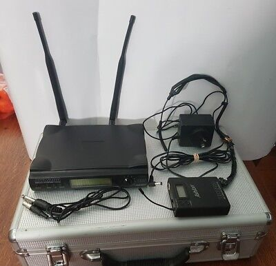 ASHTON AWM200 with BP200 wireless UHF Transmitter