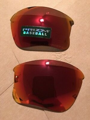 Authentic Oakley Flak 2.0 XL Prizm Baseball Field (Outfield) Replacement Lenses