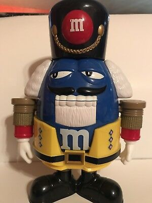 M&M's Nutcracker Toy Soldier M&M Candy Snack Dispenser Limited Edition 10 Inch