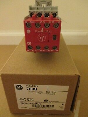 Allen-Bradley 700S-CF620EJC Safety Relay, 6NO/2NC Contacts, 20A, 24VDC
