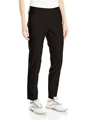 (Large, Black) - Jofit Women's Slimmer Crop Pants. Free Delivery