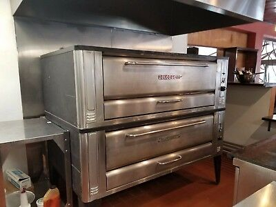 Blodgett 1060 Double Steel Deck Pizza Ovens