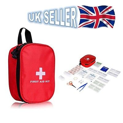 29PCS Medical Emergency FIRST AID KIT Travel Home Office Car Storage Bag Pouch
