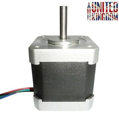 Nema 17 Stepper Motor 1.5A 12mN.m 4-Wire FOR CNC 3D Printer Mill Lathe Router UK