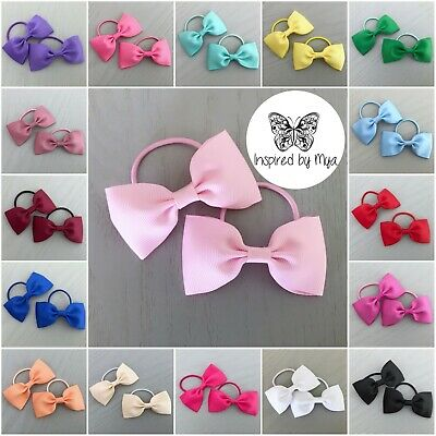 Hair Bow Accessories Hair Elastics Large Toddler Baby School Hair Bow Ties clips