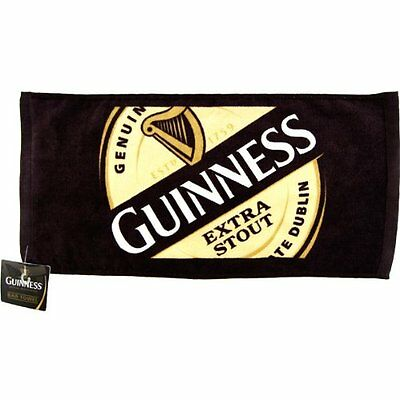 "Guinness Extra Stout - 1759 Label Bar Towel 19""x9.5"" 100% Cotton, New, Free Ship"