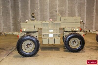 Ex military Heavy weighted trailer 8200kg military mine detonation trailer unit.