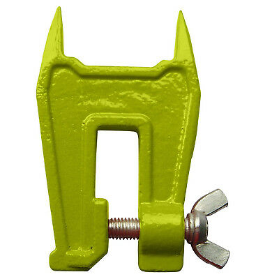 Green Stump Vise Logger Chain Saw Filing Tree Clamp Metal Tool Bench Accessory