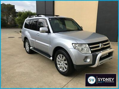 2007 Mitsubishi Pajero NS Exceed Wagon 7st 5dr Spts Auto 5sp 4x4 3.2DT A Wagon