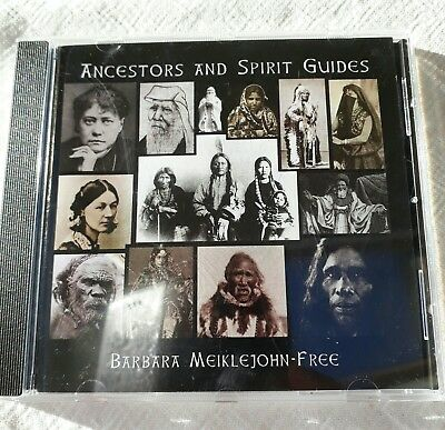 Guided Meditation CD Ancestors and Spirit Guides by Barbara Meiklejohn - Free