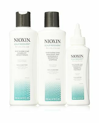 Nioxin Scalp Recovery System Kit for a dry itchy scalp Free Shipping